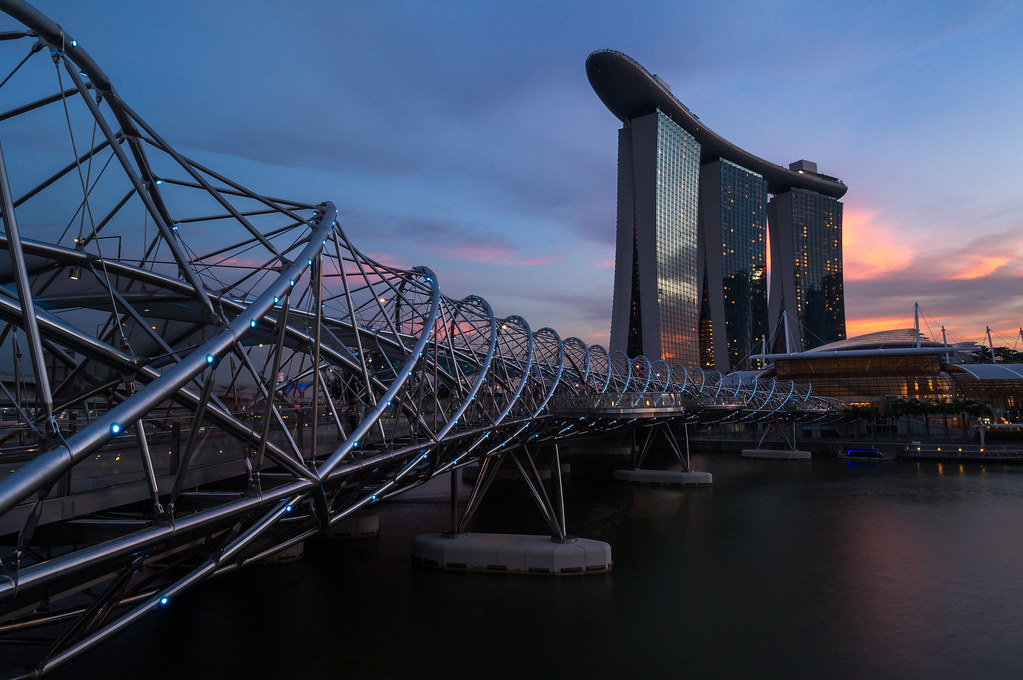 Marina Bay Sands Sunset, Singapore
