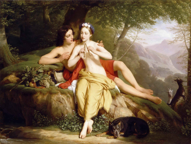 Louis Hersent - Daphnis et Chloe