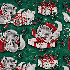 kitten gift wrap