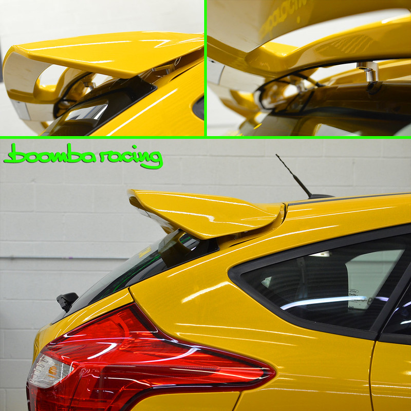 Focus St Wing Riser From Boomba Racing And