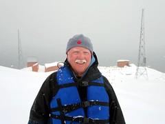 David Stanley in Antarctica