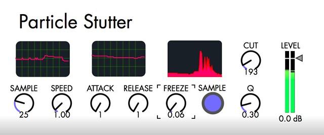 M4L Particle Stutter