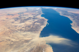 Egyptian Dust Plume, Red Sea