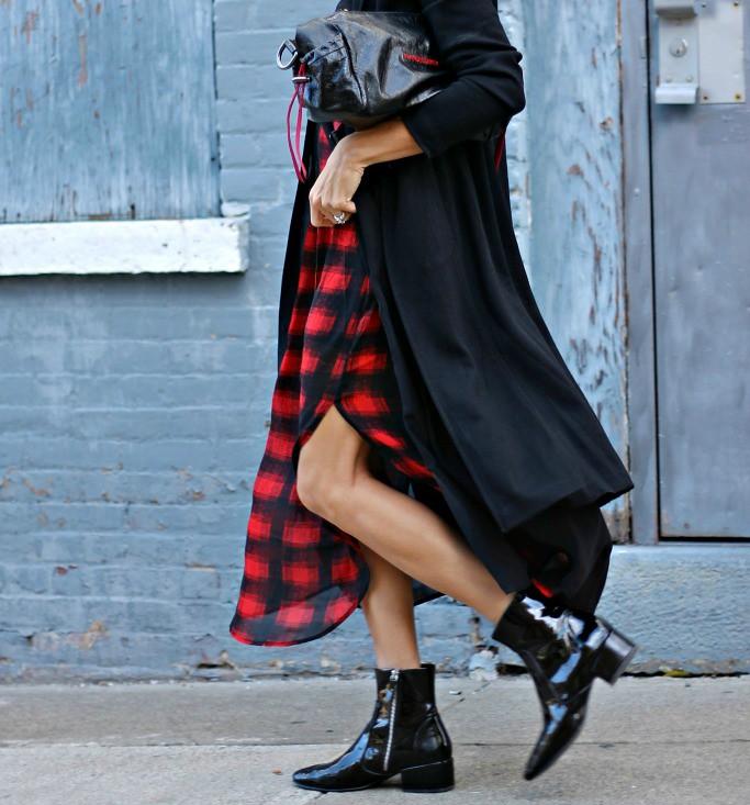 IMG_7304, zara boots, plaid skirt, volcom