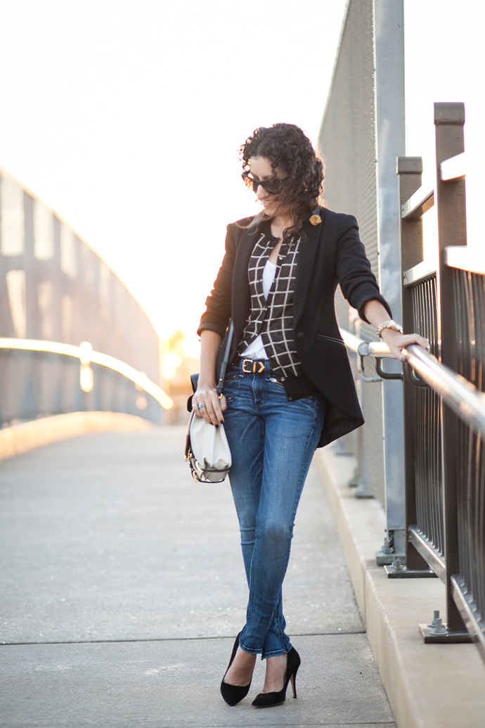 Windowpane Jacket – Recreating a Look With Closet Dwellers