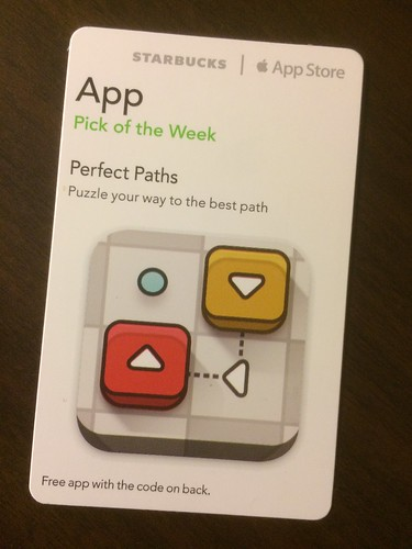 Starbucks iTunes Pick of the Week - Perfect Paths