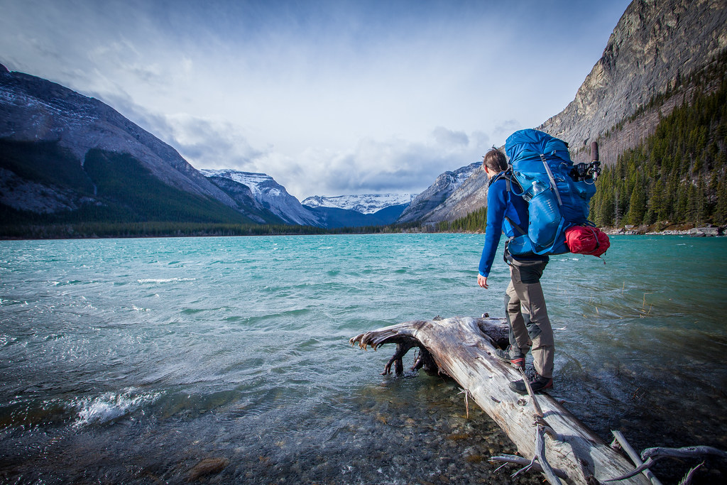 Walking from Calgary to Banff