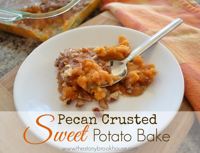 Pecan Crusted Sweet Potato Bake