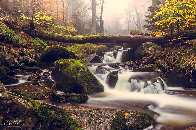 Obere Wasserfälle im Ilsetal