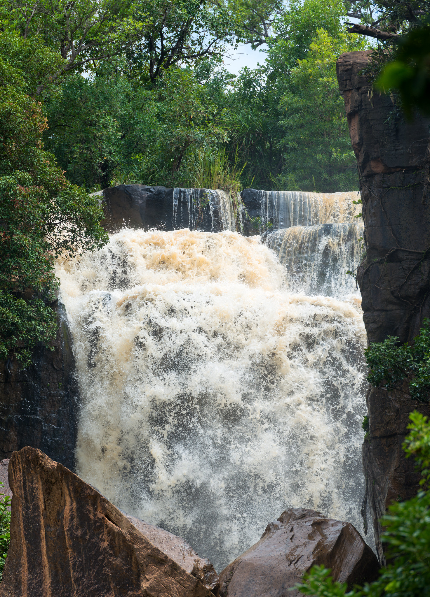 Burkina Faso Waterfall