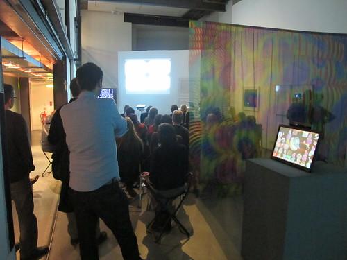 William Latham Artist's Talk, Centrespace, VRC, Nov 2014