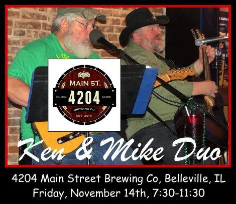 Ken & Mike Duo 11-14-14