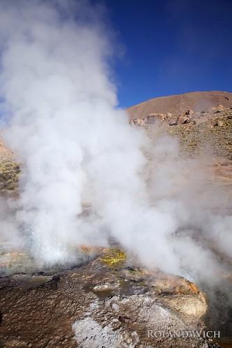 chile america desert south el atacama geyser geysir tatio geysers geysire