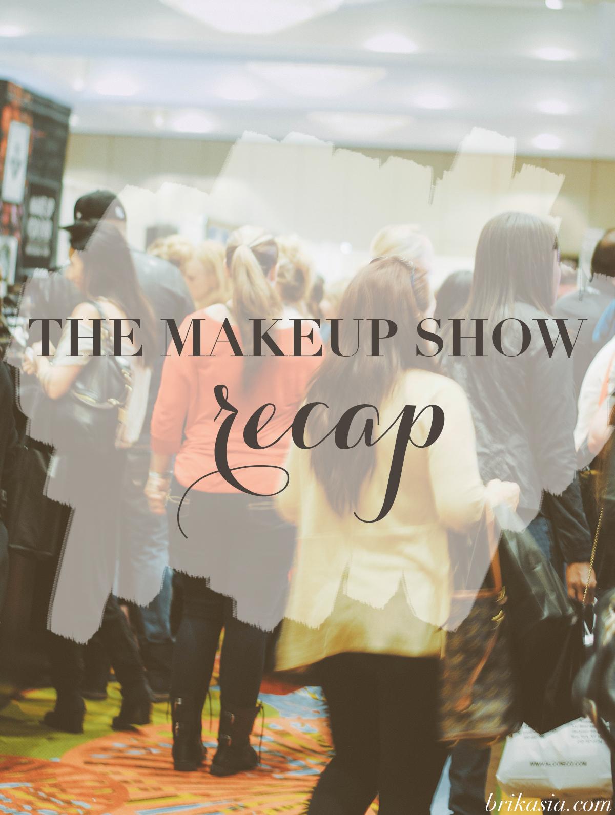 The Makeup Show Orlando, beauty trade show recap