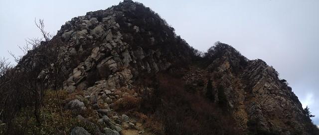 鎌ヶ岳 県境稜線縦走路 南陵パノラマ