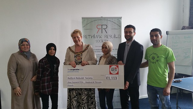 Mon, 11/05/2015 - 14:33 - RR Receives Grant from Lord Mayor's Office April 2015