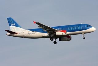 BMI British Midland Airbus A320-232 G-MIDY