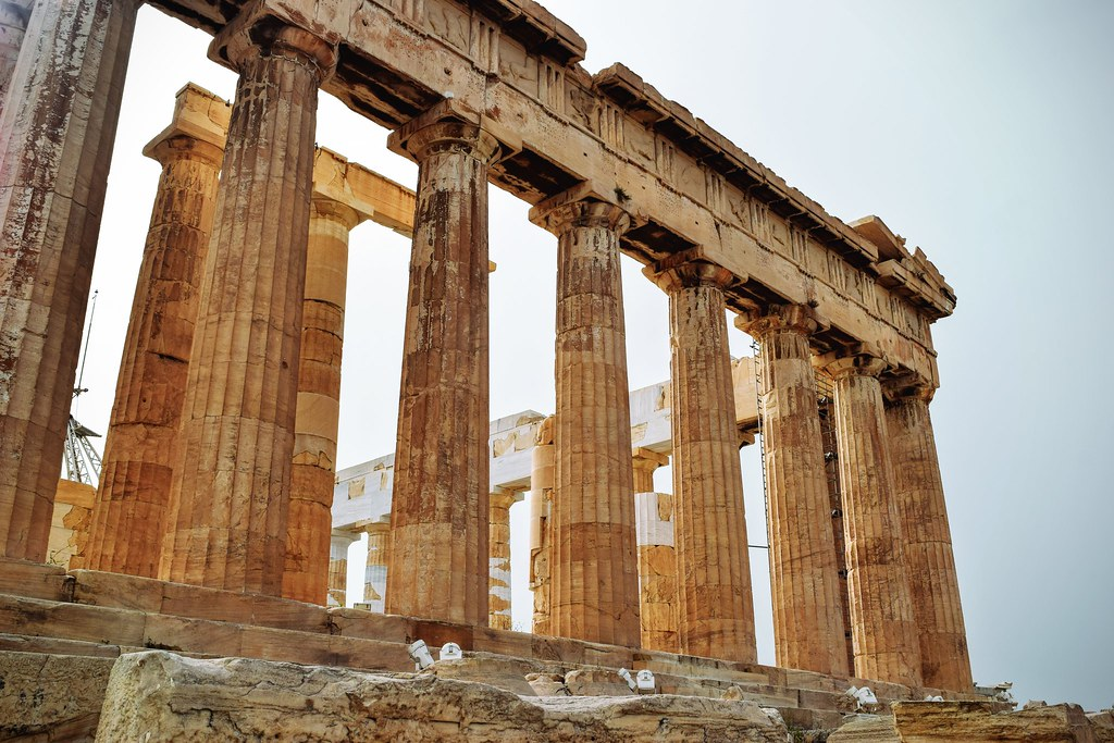greek ancient architecture athen orders three april
