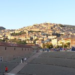 Scavi antistante Certosa Vista su Padula agosto 2016