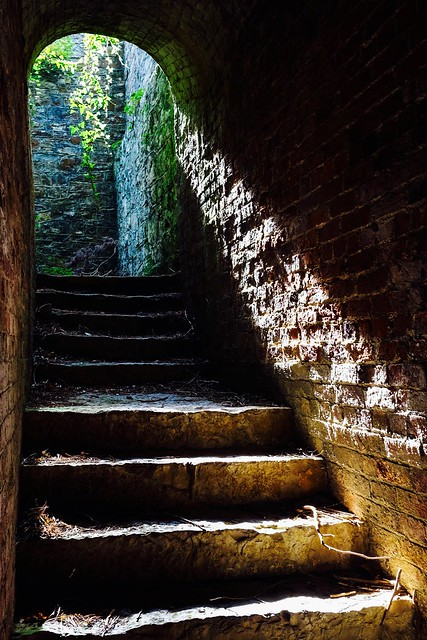 Down the Stone Steps