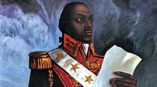 Toussaint L'Ouverture, líder de la revolución haitiana  - Créditos: Reproducción