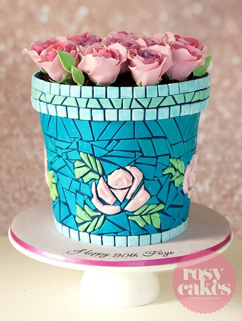 Cake by Rosy Cakes by Jessica Atkins
