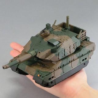 小巧可愛的日本陸自戰車! 海洋堂 Sofubi Toy Box Hi-LINE002 陸上自衛隊 10式戰車