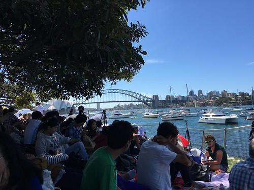 シドニーのカウントダウン花火