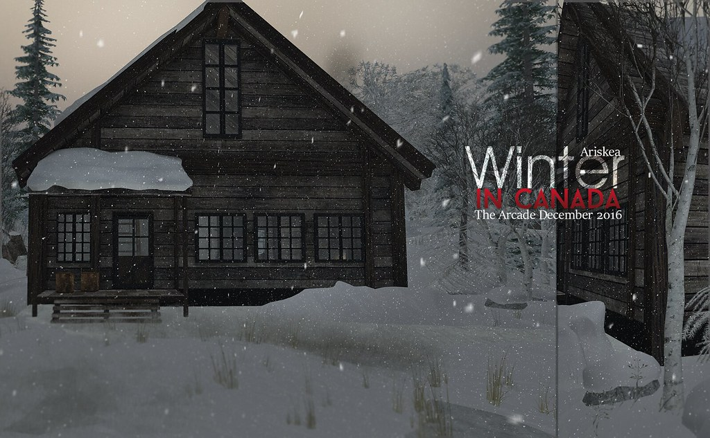 The Arcade December 2016 - Winter in Canada - Ariskea - SecondLifeHub.com