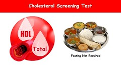 Cholesterol Screening Test does not require Fasting