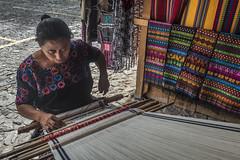 Tapestry weaver | Antigua, Guatemala