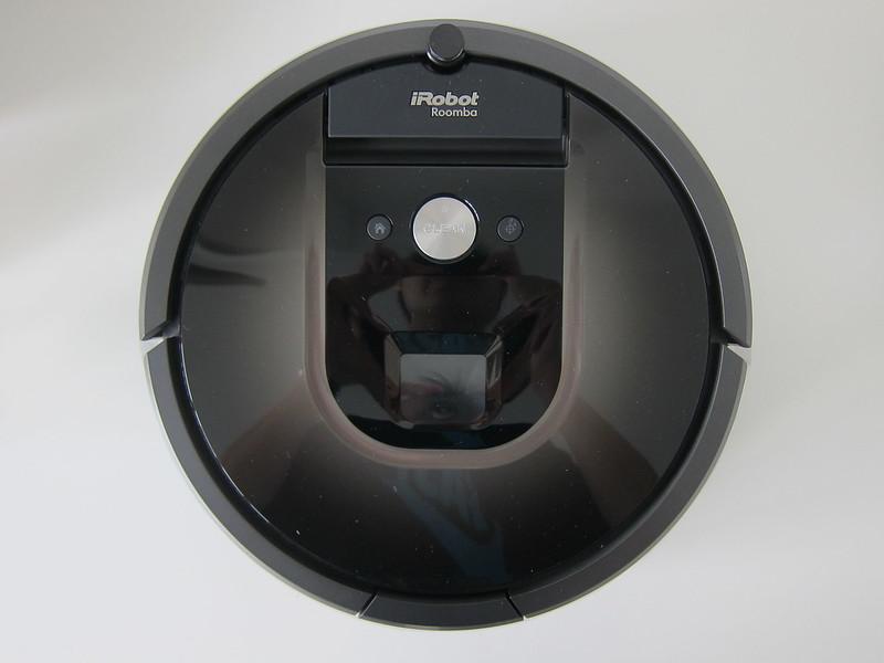 iRobot Roomba 980 - Top