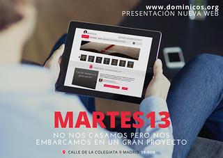 Presentación de la web dominicos.org