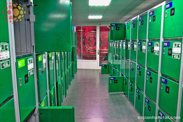 guarda-volumes, Atocha, Madrid
