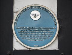 Photo of Giles Gilbert Scott blue plaque