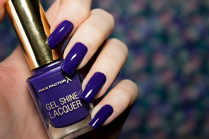 Max Factor Gel Shine Lacquer in Lacquered Violet