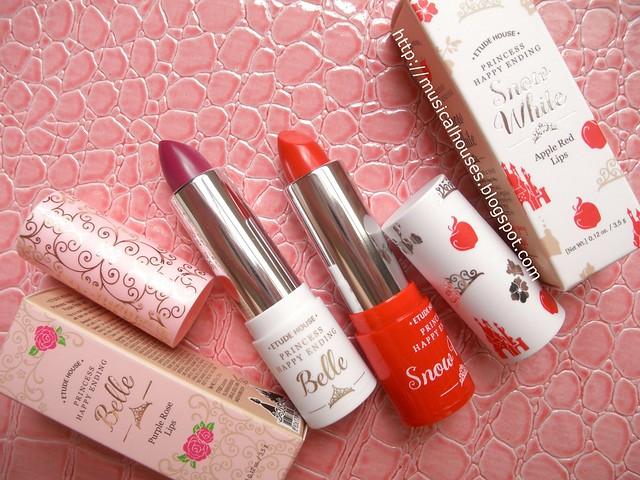Etude House Disney Princesses Belle Lipsticks