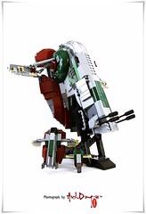 #LEGO  #STARWARS  #8097 #Slave I™ #아키동이