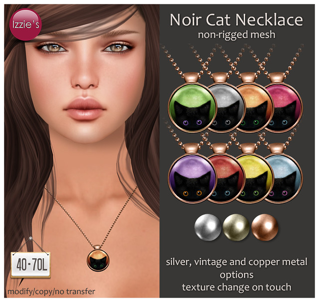 TDRF (Noir Cat Necklace)