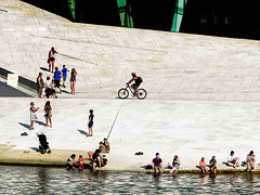 Oslo on a hot day