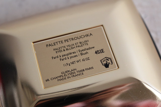 Guerlain Petrouchka Palette swatches review