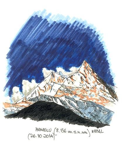 Manaslu (8.156 m.s.n.m.)
