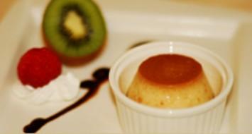 高雄新國際西餐廳正統牛排A餐套餐_法式焦糖布丁