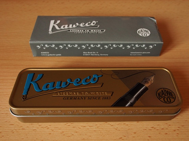 Kaweco Allrounder Red Fine Nib - Closed Box