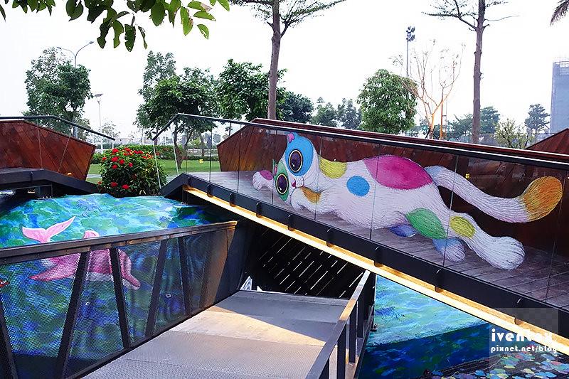21刀口力台南善化南科幾米裝置藝術小公園