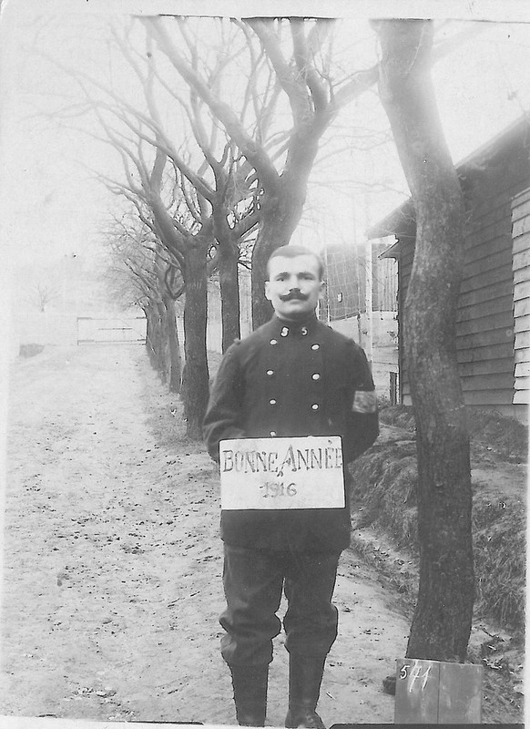 Léopold GRAS Prisonnier