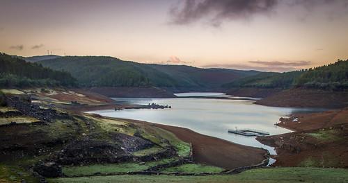 morning lake portugal river do ruin da serra hdr ochtend vilar matin portela stuwmeer zezere fojo pampilhosa