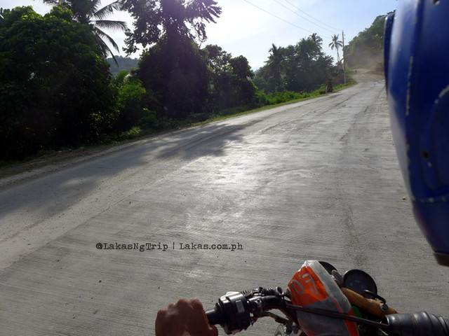 Habal-habal ride to Dodiongan Falls in Iligan City, Lanao del Norte, Philippines