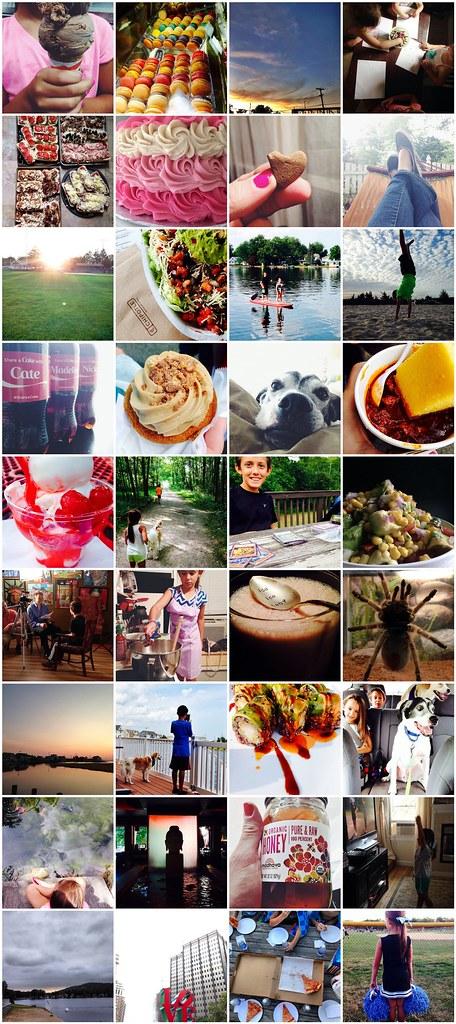 August 2014 in Instagram