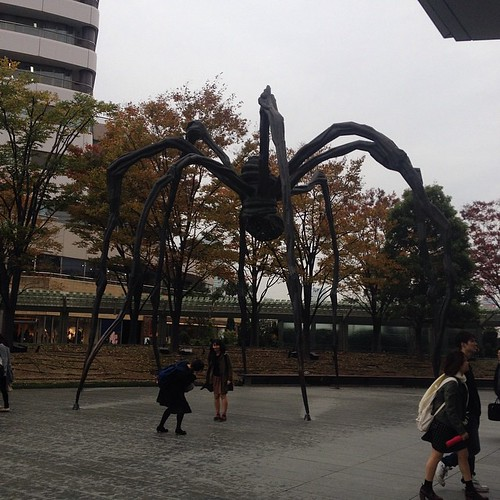 Oh yes, I'm in the right place! Went to see the Tim Burton exhibit at the Mori Art Museum in Roppongi Hills. :)